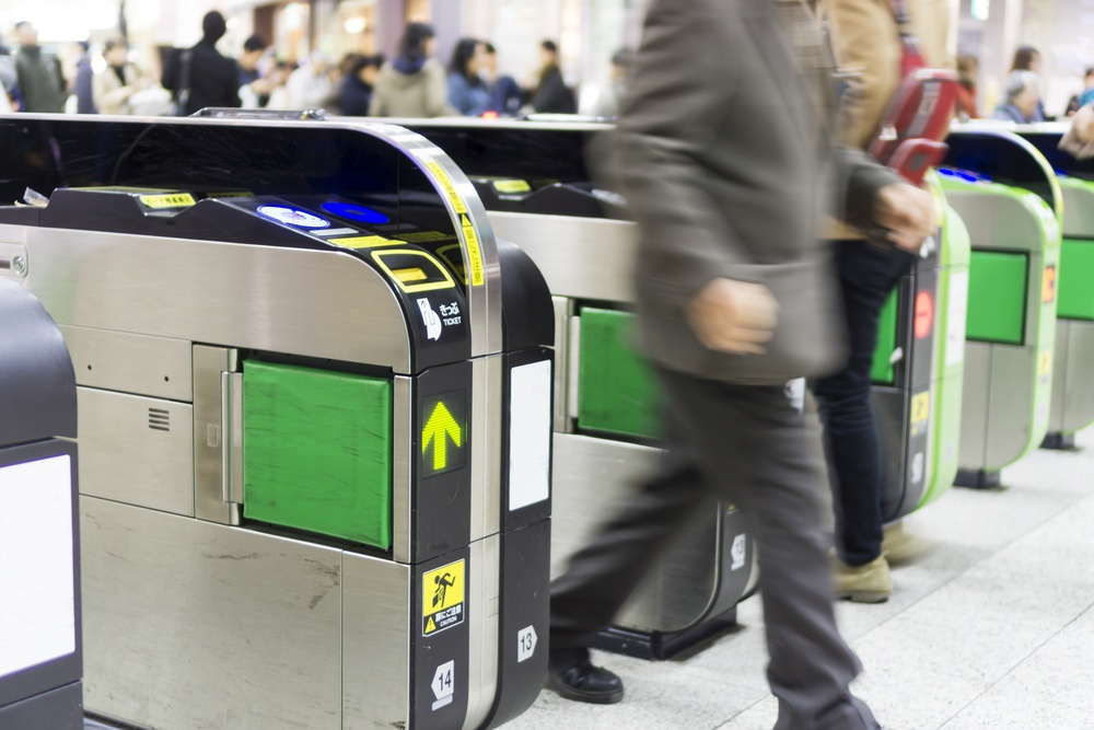 Station automatic ticket Tokyo